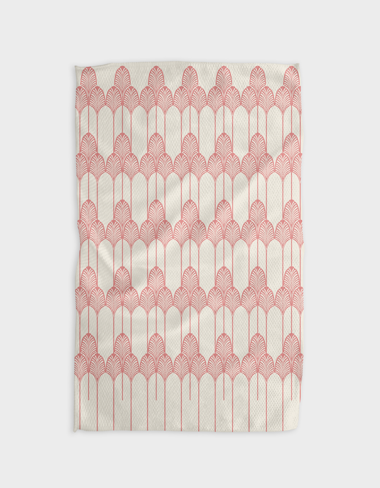 Palmier Rose Kitchen Tea Towel