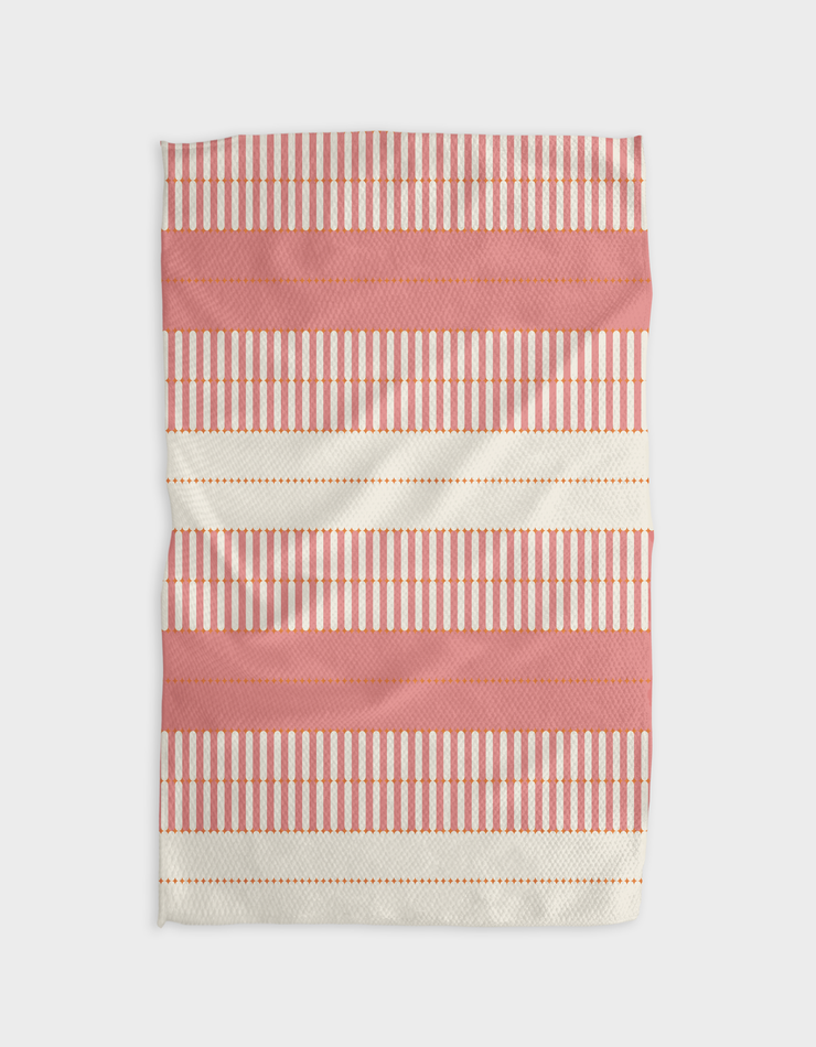Bâton Rose Kitchen Tea Towel