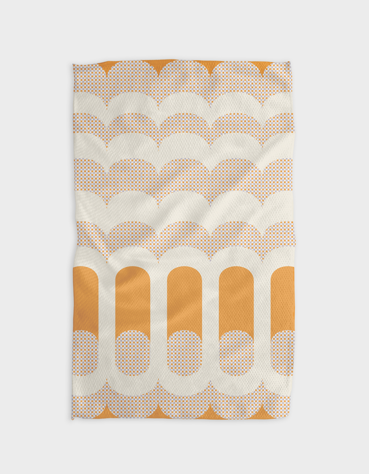 Theatre Geant Mandarine Kitchen Tea Towel