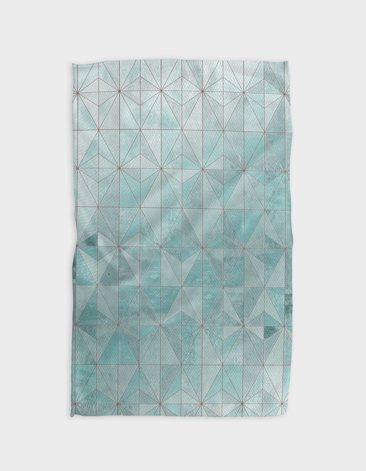Blue Tiles Kitchen Tea Towel