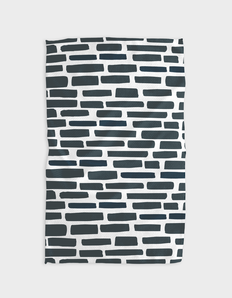 Brick by Brick Kitchen Tea Towel