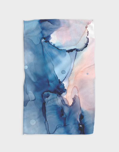 Water and Ink Kitchen Tea Towel