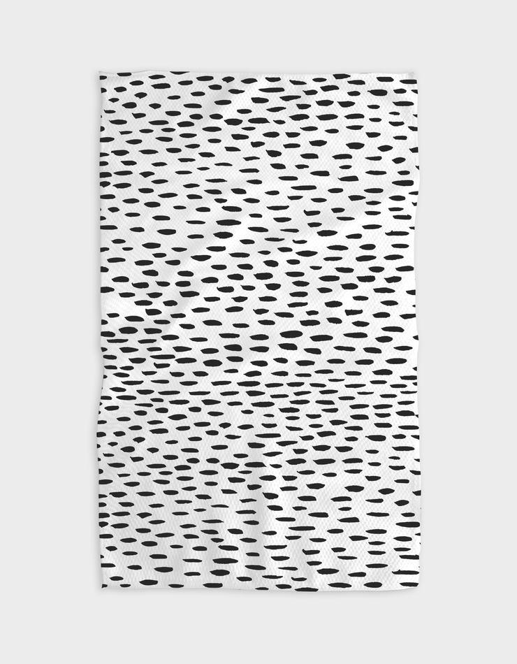 Dot Dash Kitchen Tea Towel