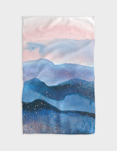 Dusty Mountain Kitchen Tea Towel