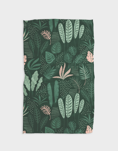 Forest Floor Kitchen Tea Towel
