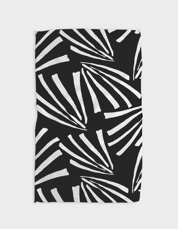 Fronds at Night Kitchen Tea Towel