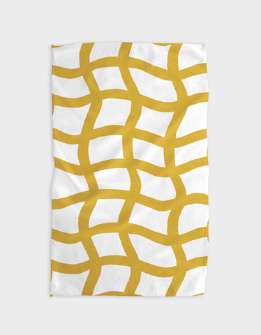Nets of Gold Kitchen Tea Towel
