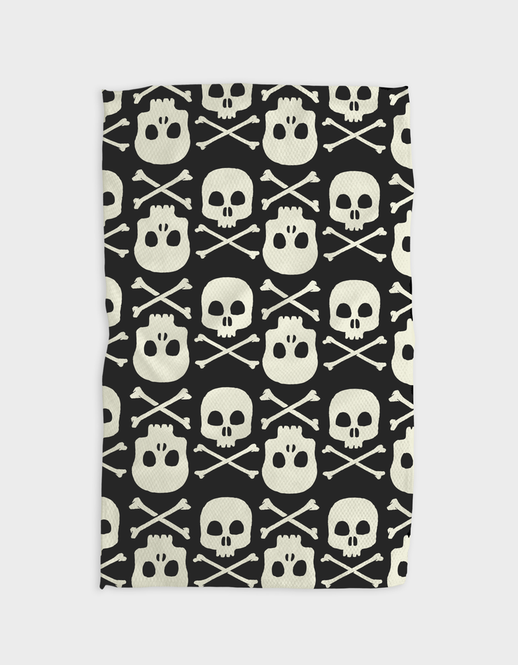 No Tales Jolly Roger Kitchen Tea Towel