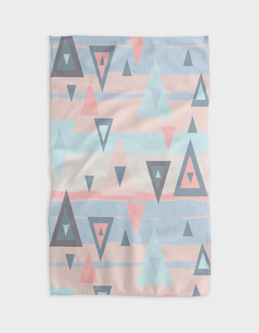 Rising Mountains Kitchen Tea Towel