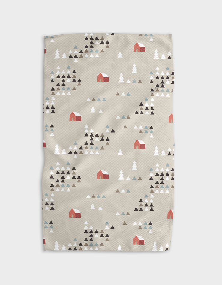 Angle Forest Kitchen Tea Towel