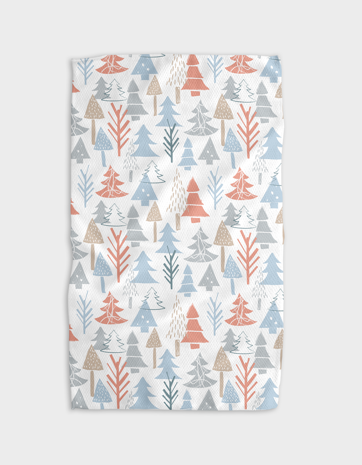 Chalky Forest Kitchen Tea Towel