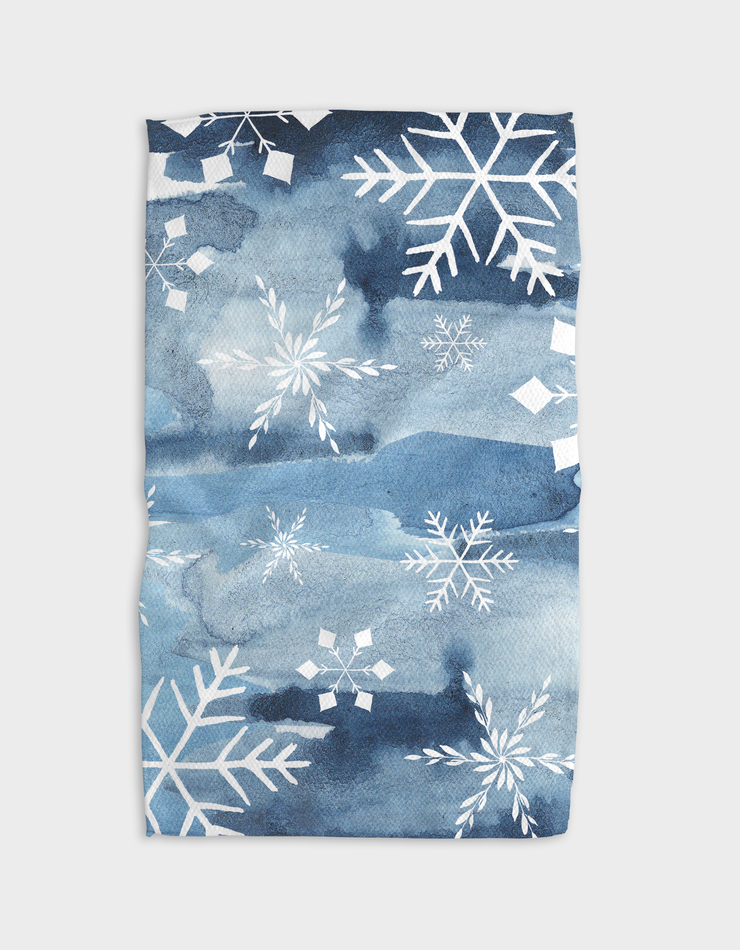 Colder Skies Misty Kitchen Tea Towel