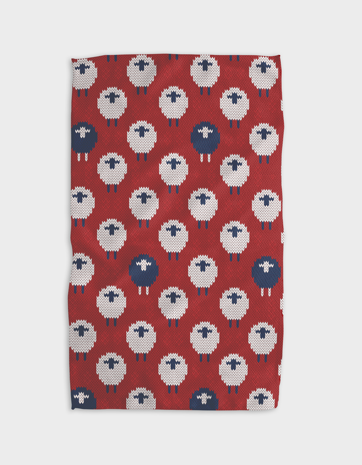 Cozy Sheep Kitchen Tea Towel