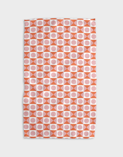 Cross Your Heart Kitchen Tea Towel