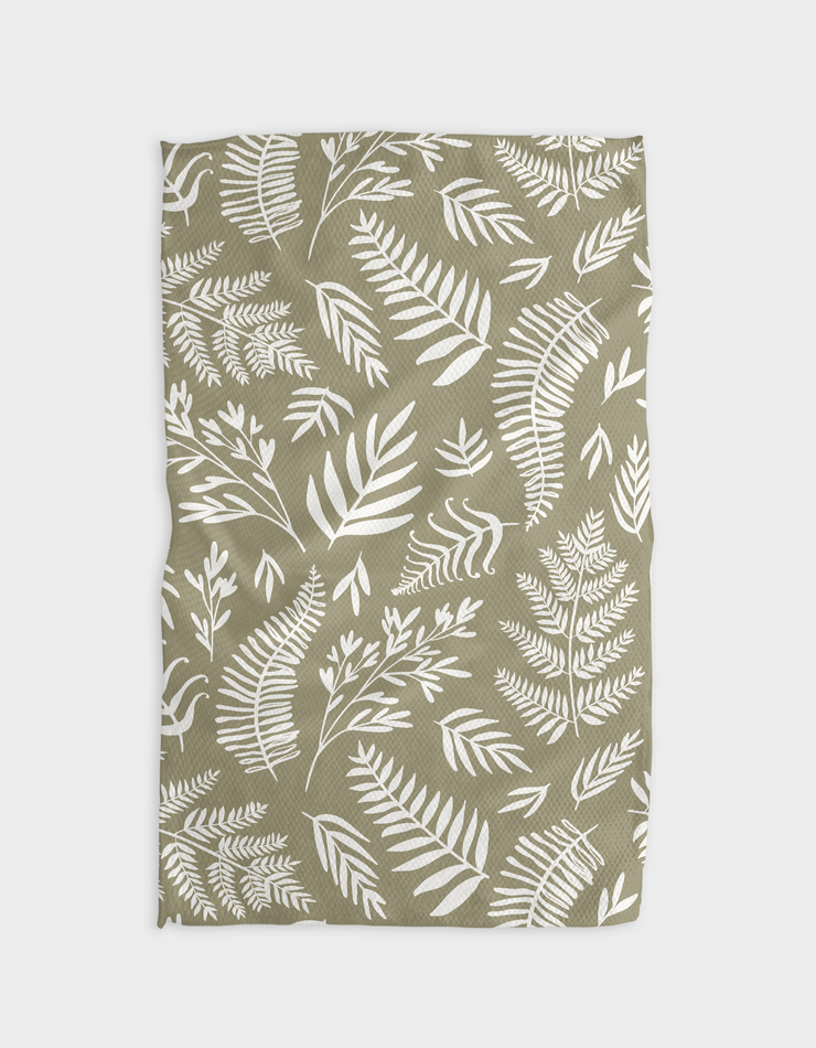 Olive Kitchen Tea Towel