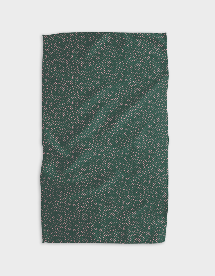 Festive Spirals Kitchen Tea Towel