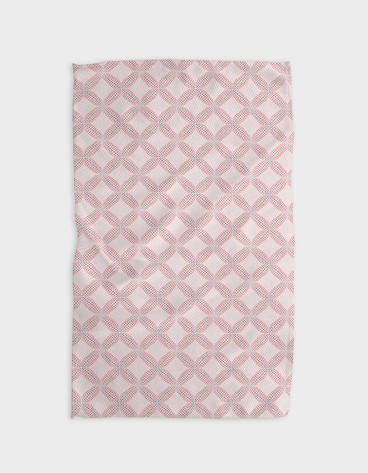 Fractal Prancer Kitchen Tea Towel