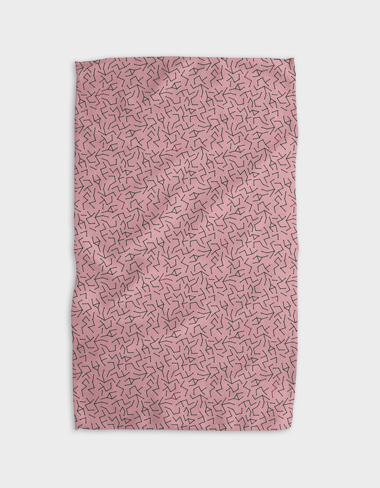 Fractal Sticks Kitchen Tea Towel