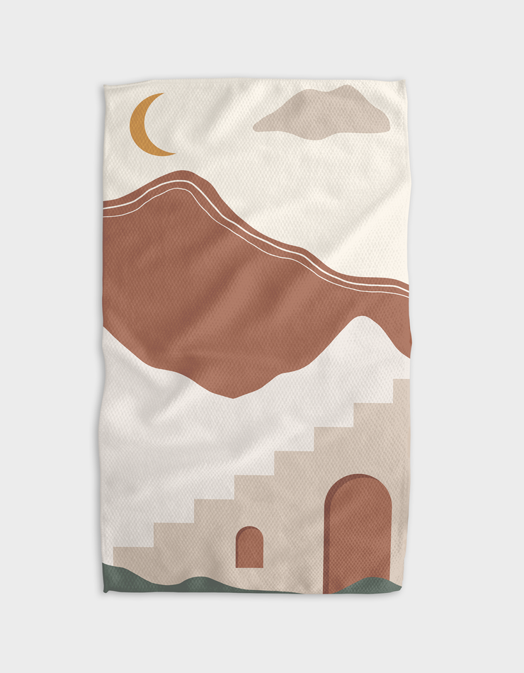 Lil Town Kitchen Tea Towel