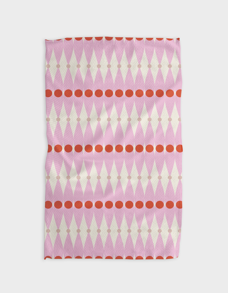 Matched Kitchen Tea Towel