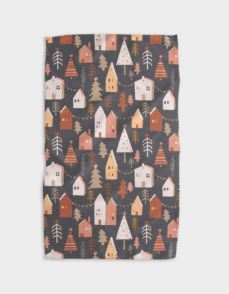 Mocha Doors Kitchen Tea Towel