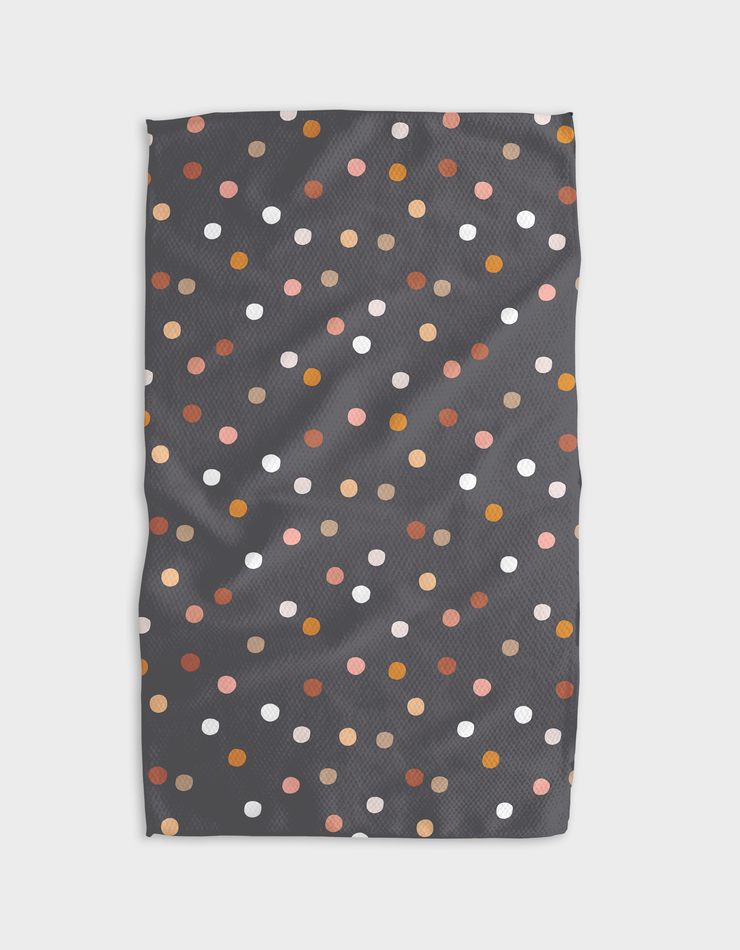 Mocha Dots Kitchen Tea Towel