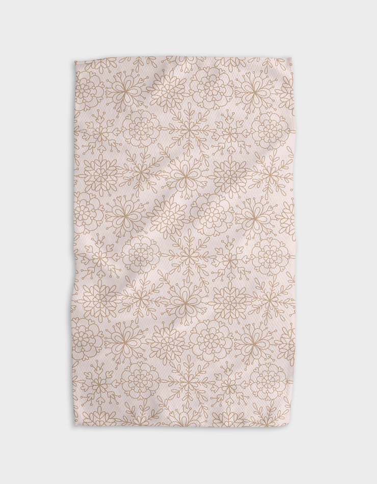 Mocha Flakes Kitchen Tea Towel
