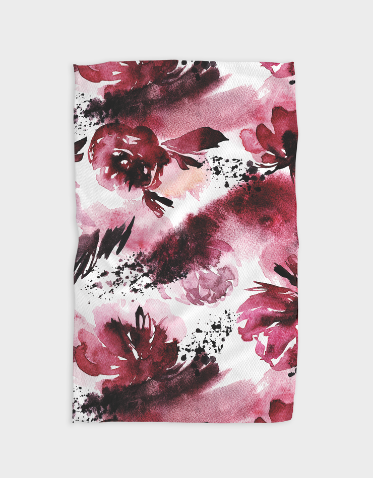 Painted Passion Kitchen Tea Towel