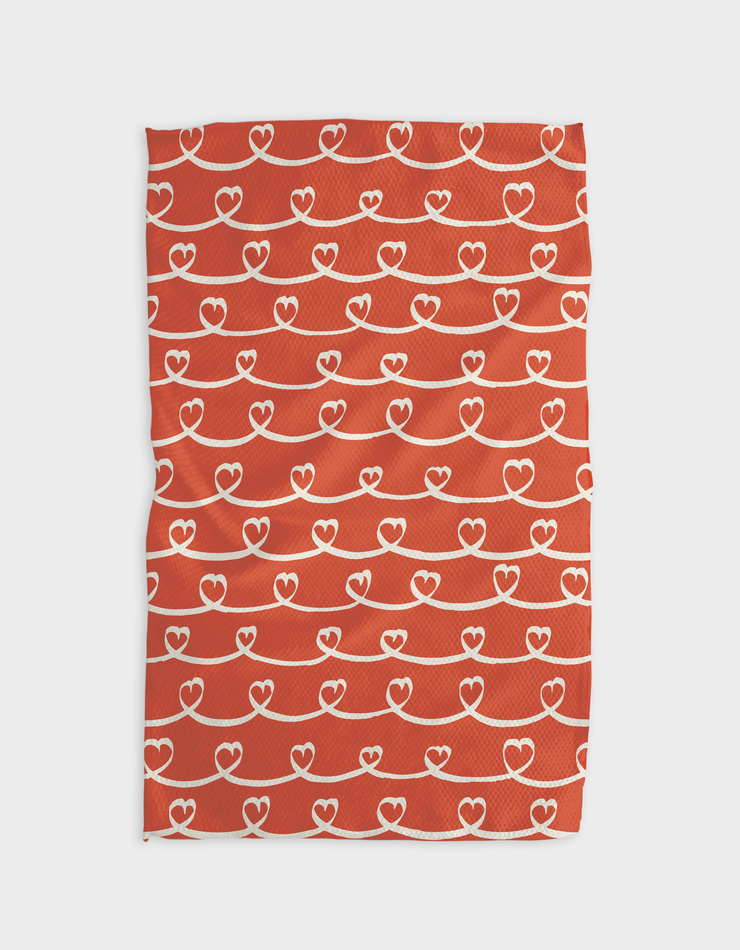 Ribbons Kitchen Tea Towel