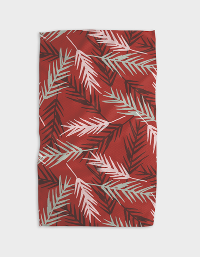 Warm Winter Kitchen Tea Towel