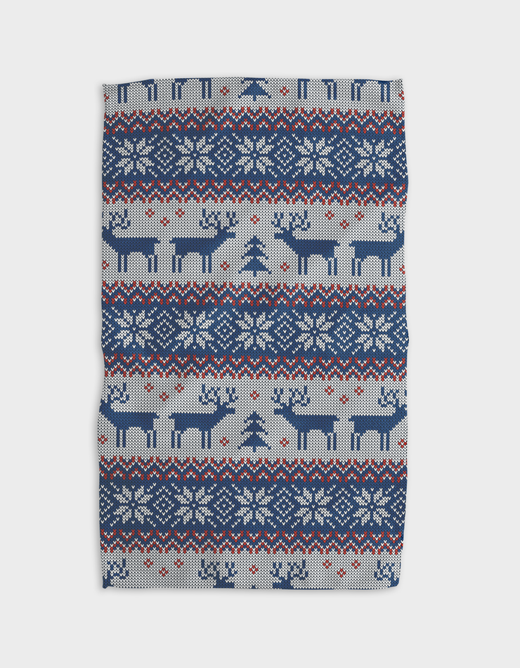 Warm and Cozy Kitchen Tea Towel