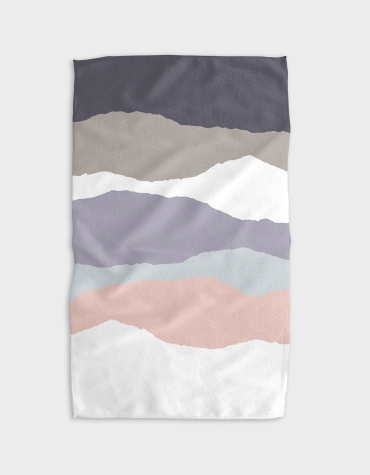 Winter Layers Kitchen Tea Towel