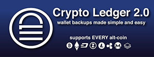 Crypto Ledger 2.0 - The simplest and easiest cold storage. Backup ANY ALTCOIN