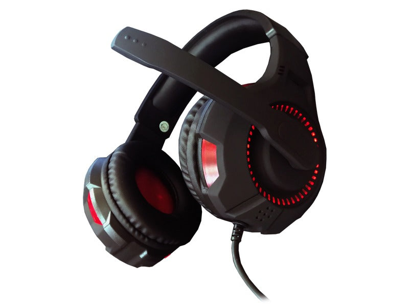 Audifono Gamer Con Microfono Havit Hv-h2213d 3.5mm Iluminado