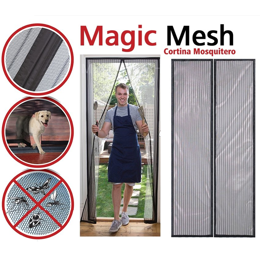 Magic Mesh – Cortina Magica Magic Mesh Anti Moscos