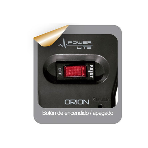 Estabilizador Power Lite Orion PLI 1001 De 4 Salidas