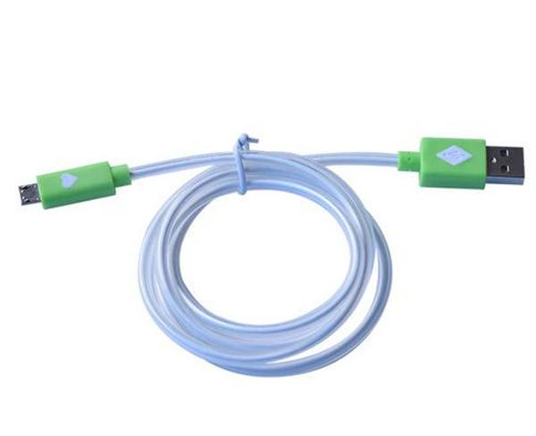 Cable Conector Luminoso USB V8 Universal