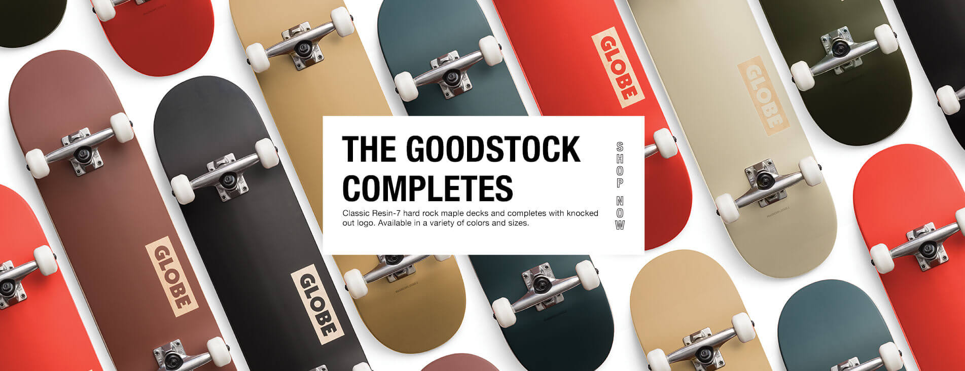 Goodstock completes skateboards