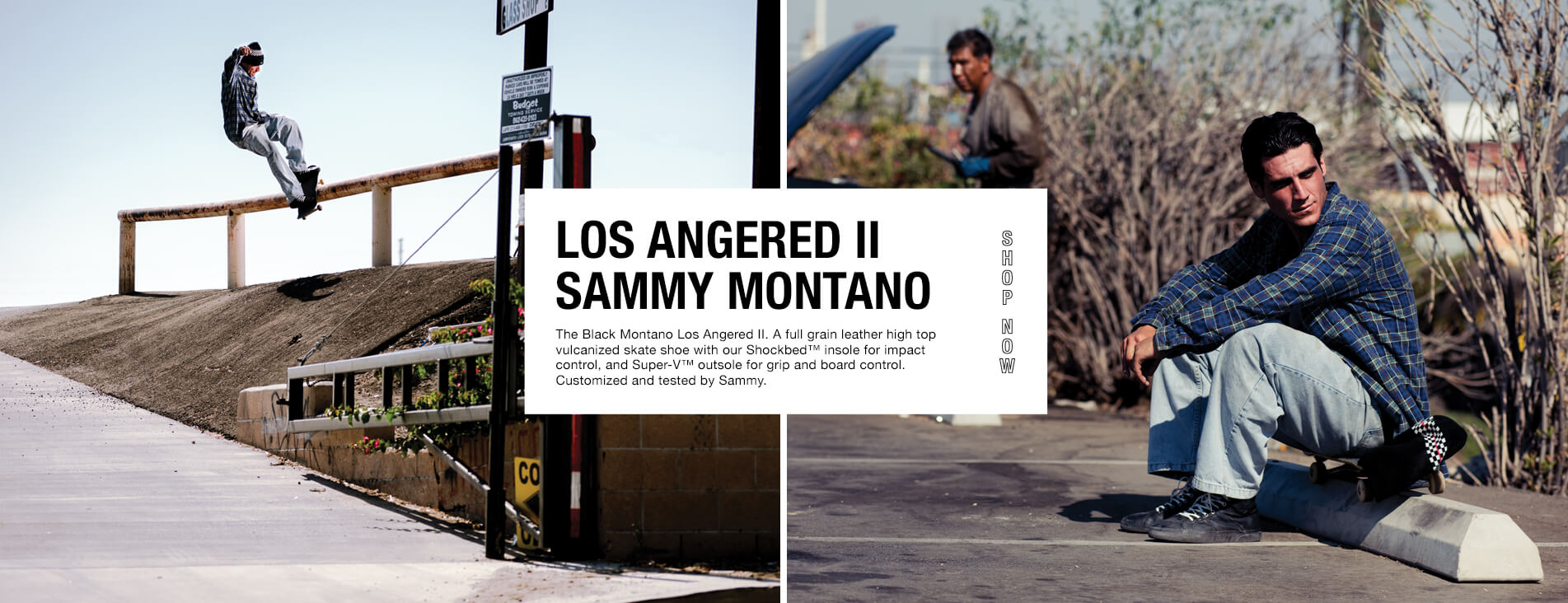 SAMMY MONTANO LA II SKATE SHOES