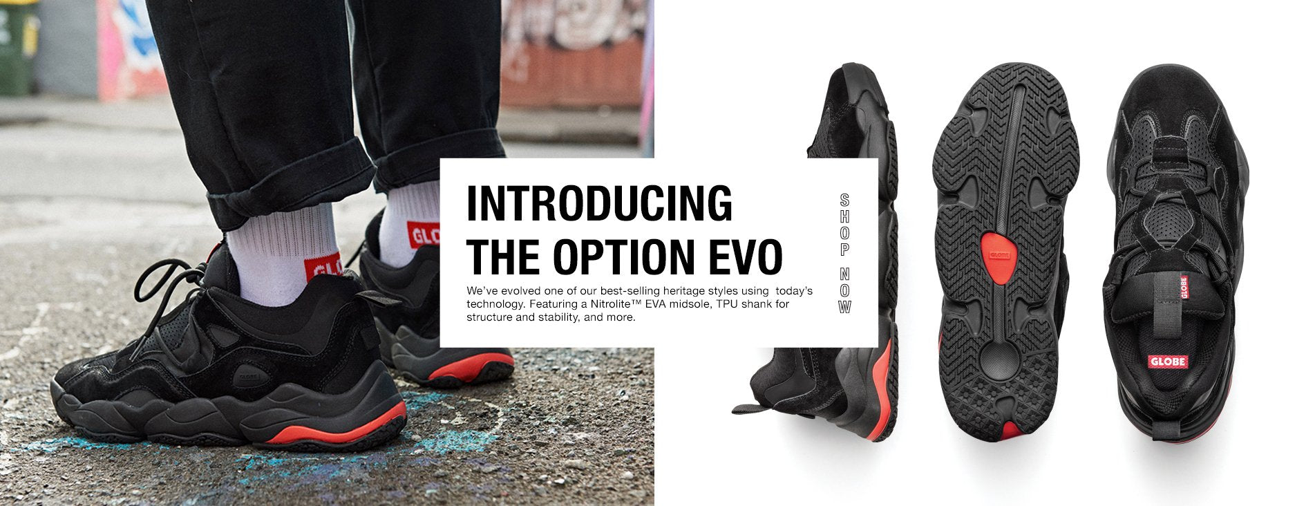 THE GLOBE OPTION EVO