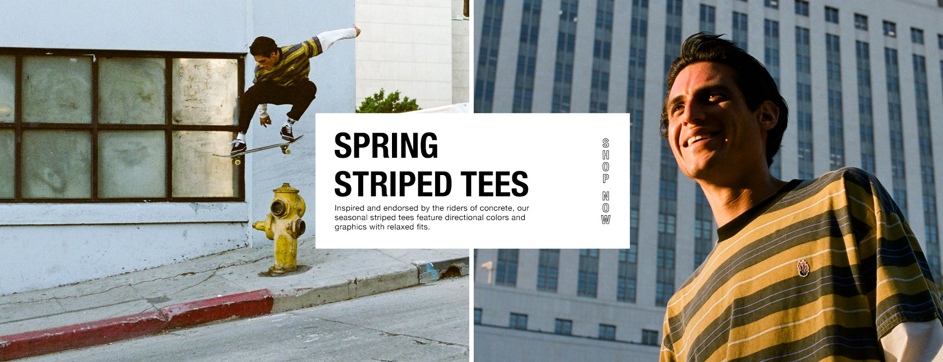 Spring striped tees