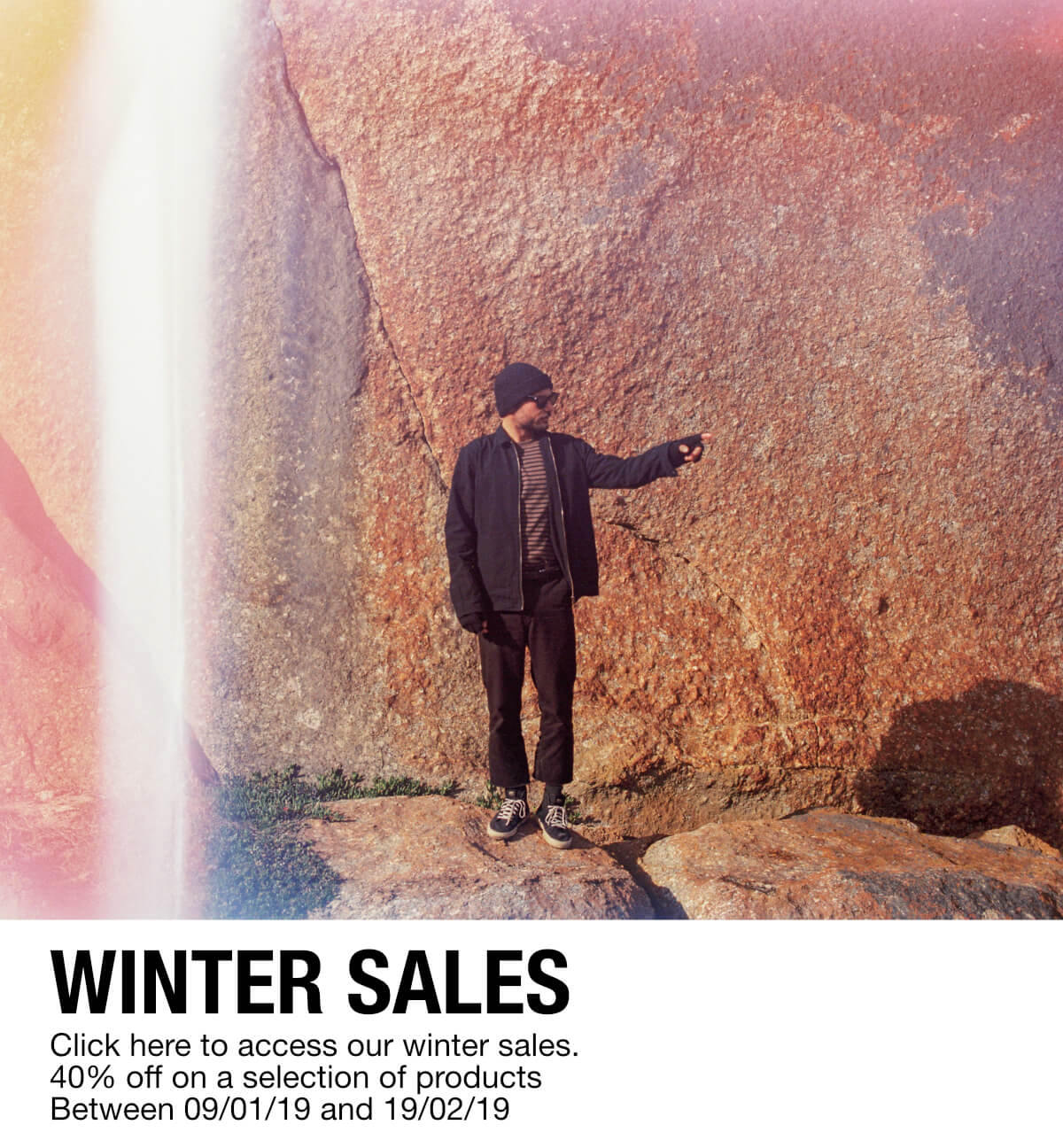 GLOBE winter sales 40% off