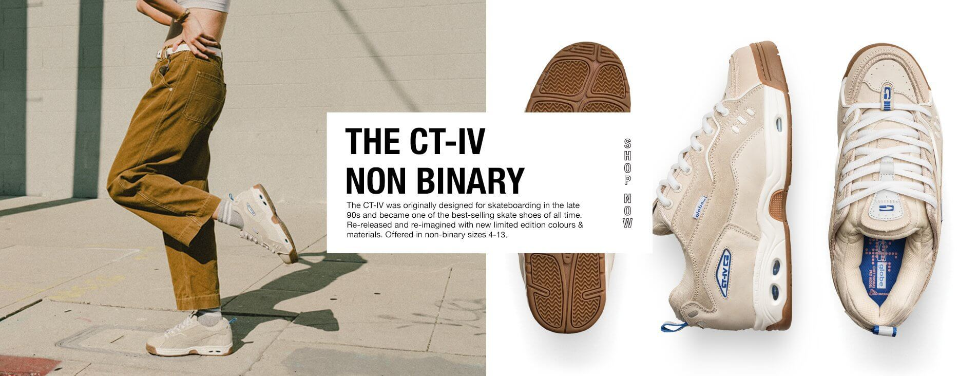 Globe CT-IV non binary
