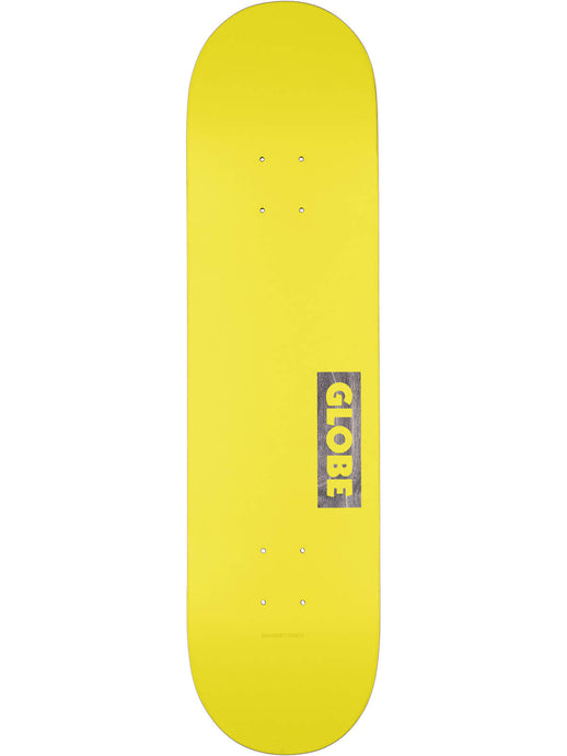 Globe Decks Goodstock Deck in Neon Yellow