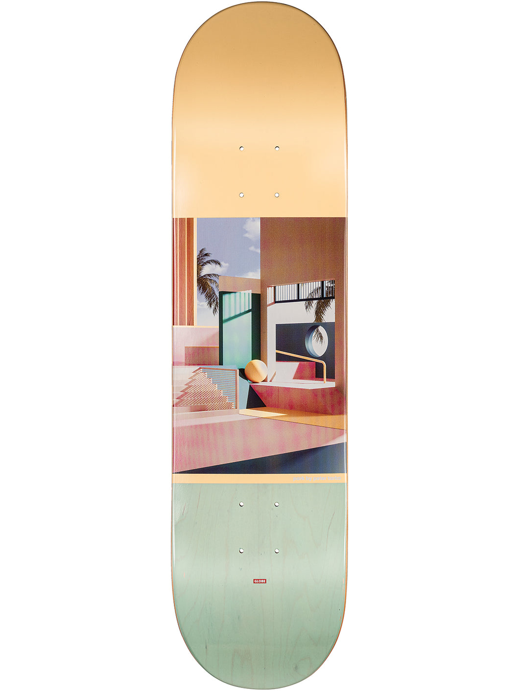 Globe Skateboards - G2 Tarka Deck in colour Park