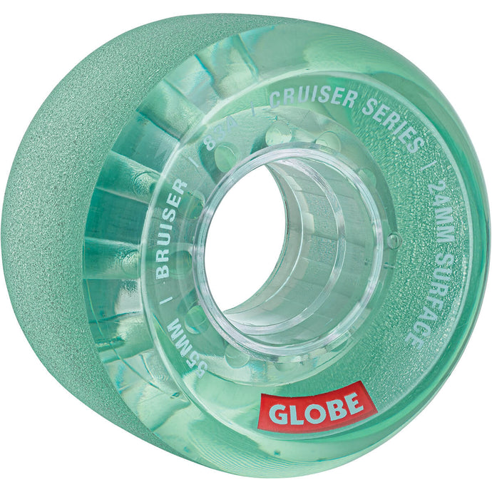 Globe Wheels Bruiser in Clear Aqua