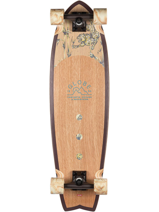 Globe Cruiserboards Chromantic in White Oak/Jaguar