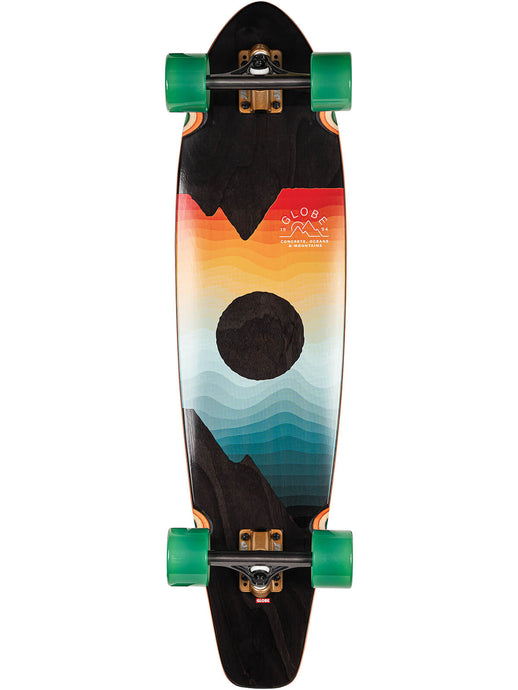 Globe Longboards Arcadia in Black Maple/Chromeset