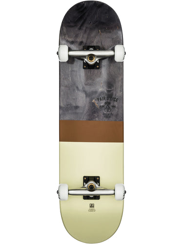 Globe Skateboards - G2 half dip 2 complete in colour black/tobacco