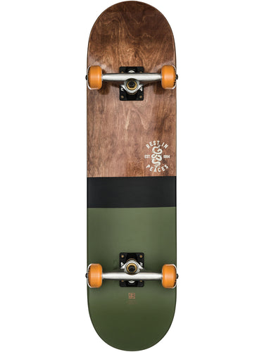 Globe Skateboards - G2 half dip 2 complete in colour dark maple/hunter green